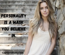Personality Quote For Instagram