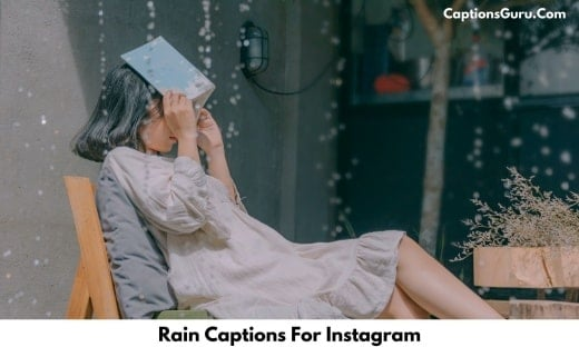 Rain Captions For Instagram