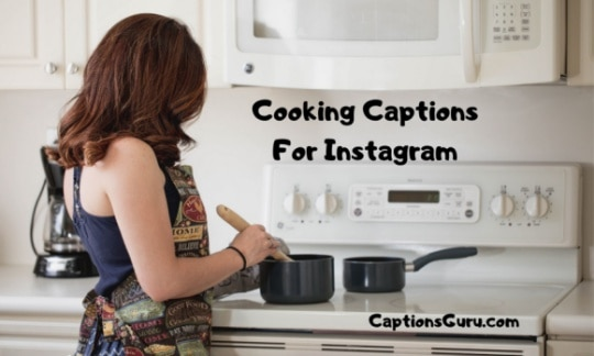 Cooking Captions For Instagram