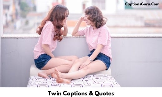 Twin Captions For Instagram